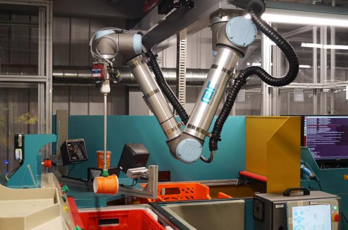 Şekil 1 Ürün Toplayıcı Robot Kolu